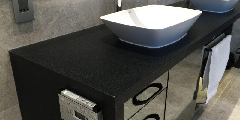 Ein trendiges Badezimmer