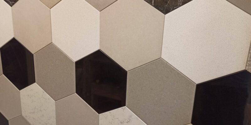 Die hygienischste Oberfläche ist aus Quarzstein
